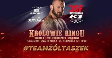 Dawid Żółtaszek zwycięża na DSF Kickboxing Challenge 20 Kraków
