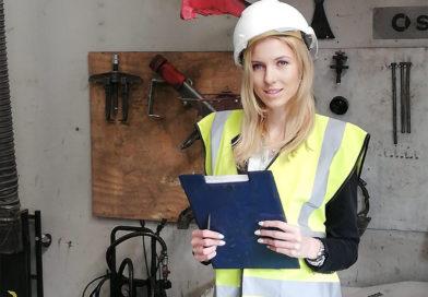 Kobieta inżynier w męskim świecie maszyn