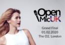 Magdalena Tul w wielkim finale konkursu OPEN MIC UK
